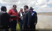 MINISTRO DE VIVIENDA Y GOBERNADOR REGIONAL (E) AGUSTIN LUQUE CHAYÑA, VISITAN SECTOR PATASCACHI CENTRO POBLADO DE PUQUIS DISTRITO DE TARACO PROVINCIA DE HUANCANE, PARA VIAVILIZAR DEFENSA RIVEREÑA DEL RÍO RAMIS.