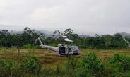 HELICOPTEROS COMPLEMENTARÁN RESCATE DE DESAPARECIDOS EN SAN GABÁN