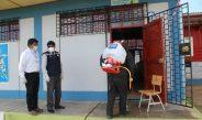 INICIAN FUMIGACIÓN Y DESINFECCIÓN EN INSTITUCIONES EDUCATIVAS DE TARACO – HUANCANÉ