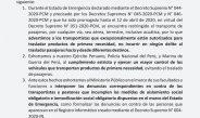 GOBIERNO REGIONAL PUNO RECUERDA A LA CIUDADANÍA DE LA REGIÓN PUNO