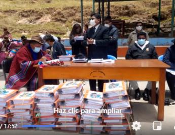 Gobernador regional Agustin Luque Chayña, se reune con los tenientes gobernadores de la provincia de Huancane, sobre construcción del Hospital en dicha provincia.